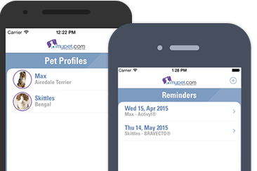 Download the FREE MyPet Reminders app